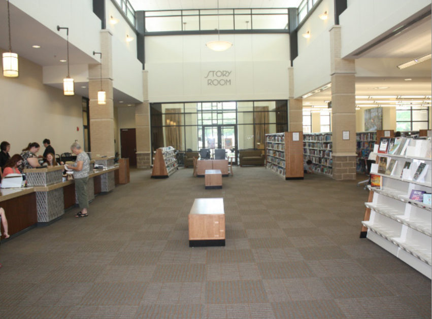 inside view of the durant library
