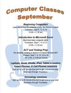 computer classes