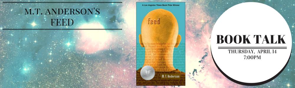 Book Talk banner Feed