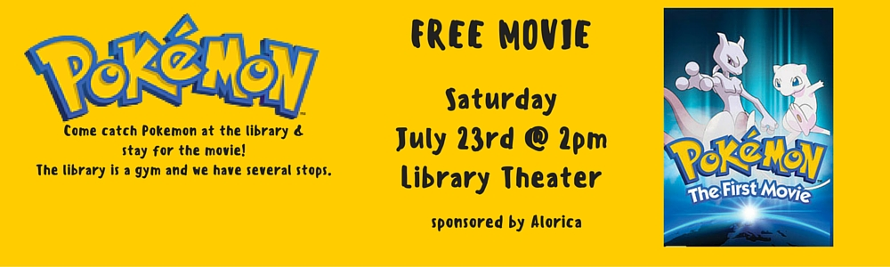 July's Family Movie Event