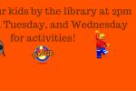 Thanksgiving Week Activities
