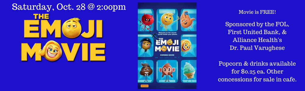 Family Movie Event 10/28