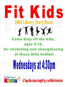 fit kids poster