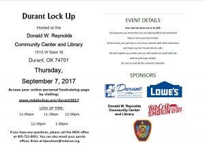 Durant Lock up