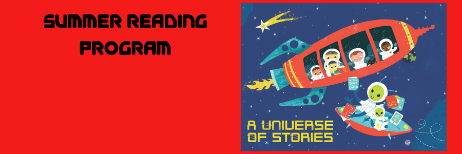 banner for a universe of stories srp