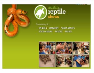 website pic for the reptile show