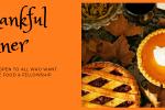 banner for community Thanksgiving