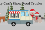 holiday food truck banner