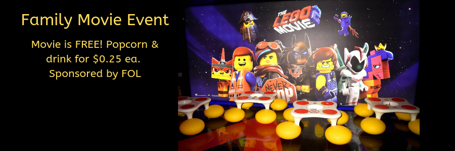 banner for Lego Movie 2