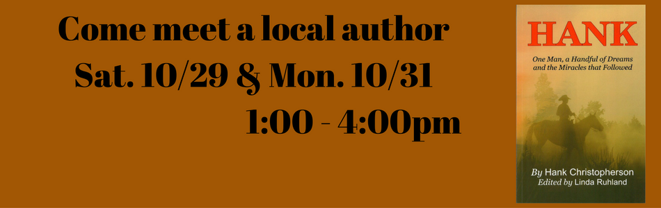 book signing banner