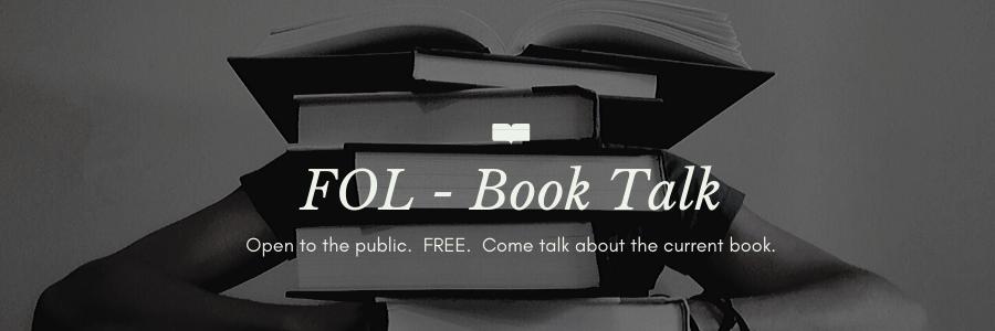 November 14 Book Talk