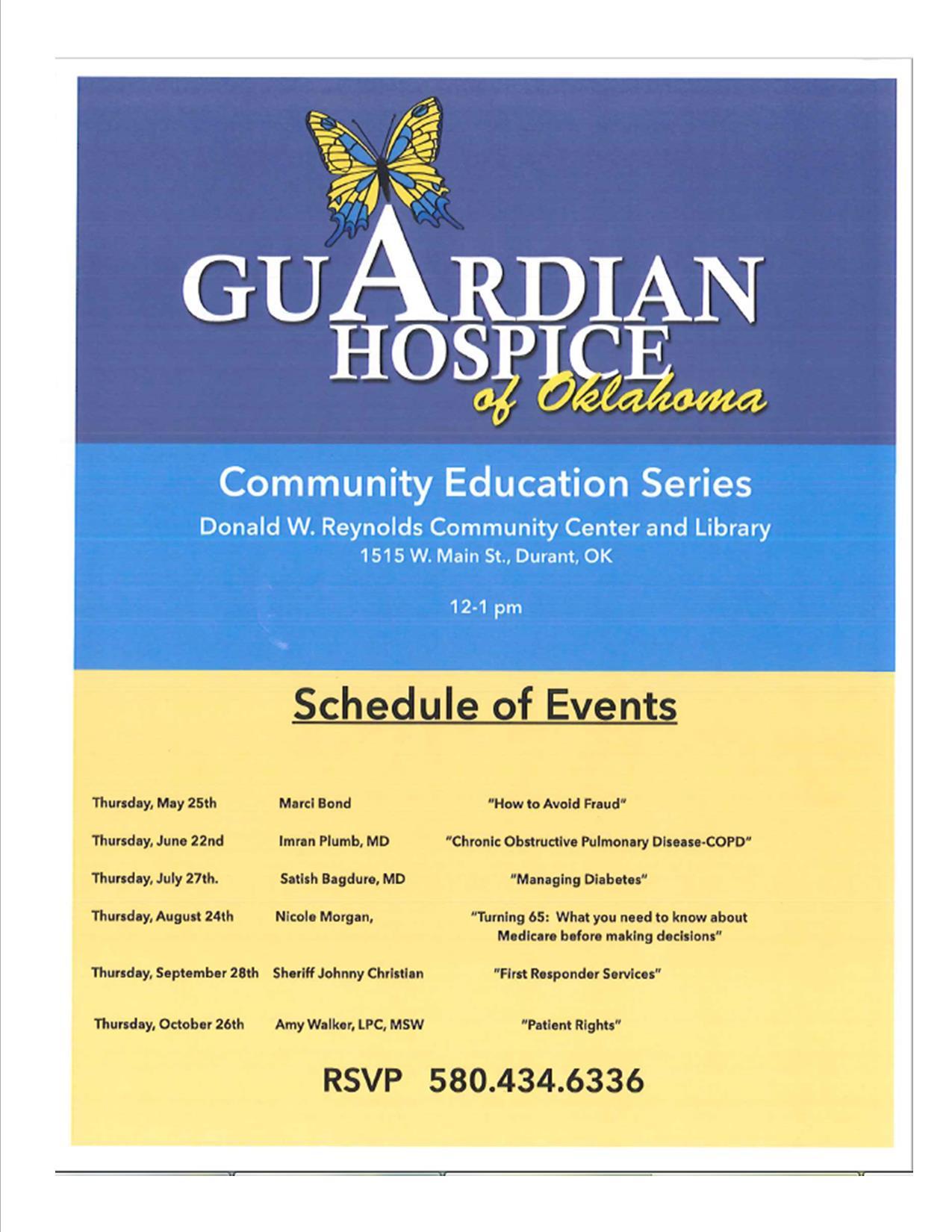 Guardian CES poster