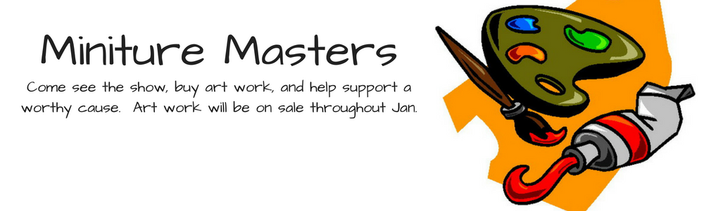 Miniture Masters banner