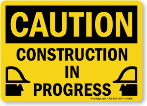 construction page