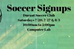 soccer signups banner