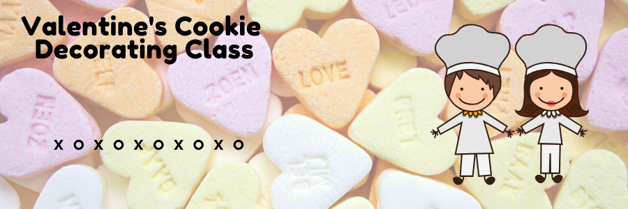Valentine's Cookie Decorating Class